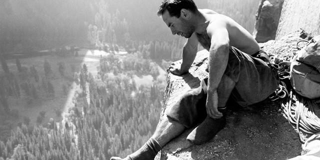 Yosemite tırmanışlarının öncülerinden Yvon Chouinard, 1964