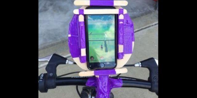 Pokemon GO dağ bisikletini ele geçirmiş