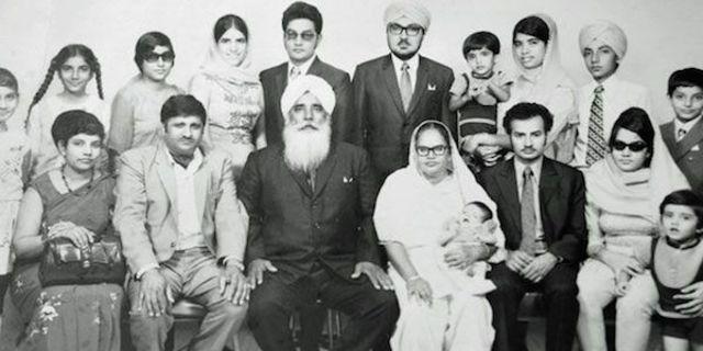 Dağılmadan önce Singh ailesi…