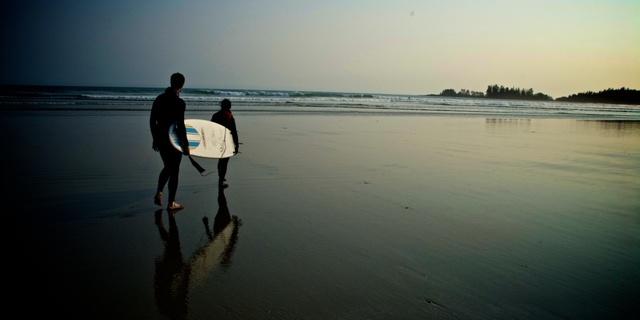 Kanada'nın sörf cenneti Tofino