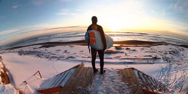 Kamçatka'da sörfün tadı bir başkadır