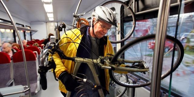 Tabii bisikletin boyutları biraz can sıkıcı olabiliyor!