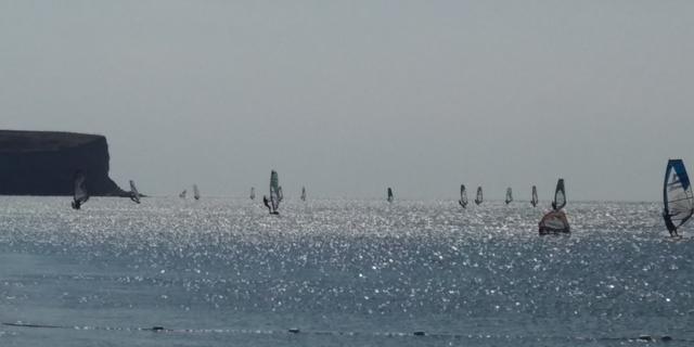 Gökçeada rüzgar sörfü cenneti 1