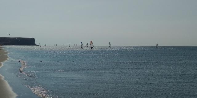 Gökçeada rüzgar sörfü cenneti 2