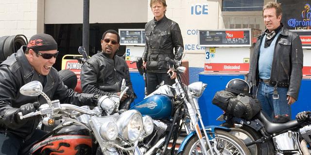 Motosiklet filmlerine devam...