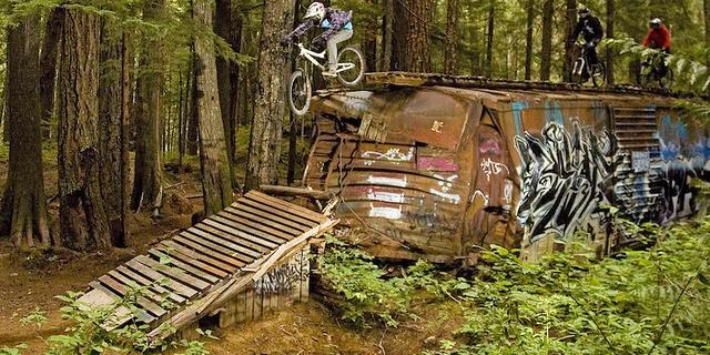 Whistler'daki tren vagonları kazaya rağmen faaliyette!