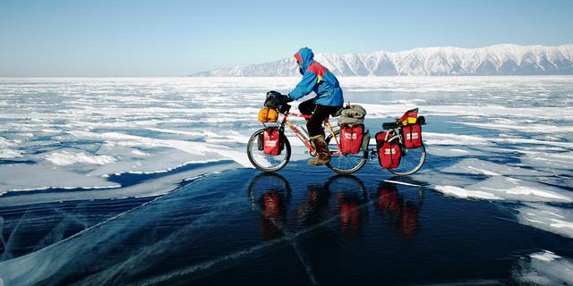 Buz üzerinde yol almak…