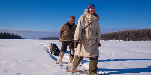 Kış günü trekking yapmanın tadı başka
