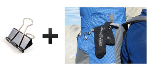 Islanan giysilerinizi çantanıza asın