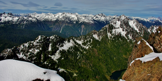 Olympic National Forest, Mount Ellinor Rotası