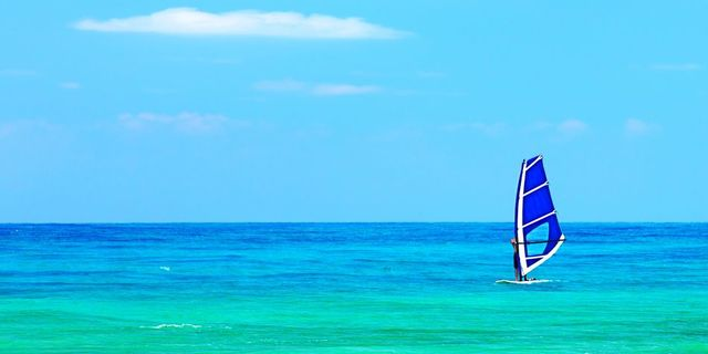 Engin deniz ve gökyüzüyle bir olmak
