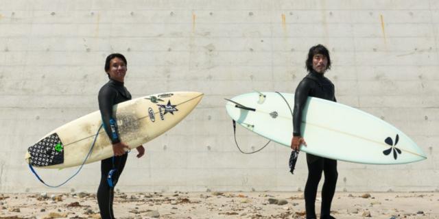 Radyoaktif dalgalarda sörf yapan çılgın Japonlar!