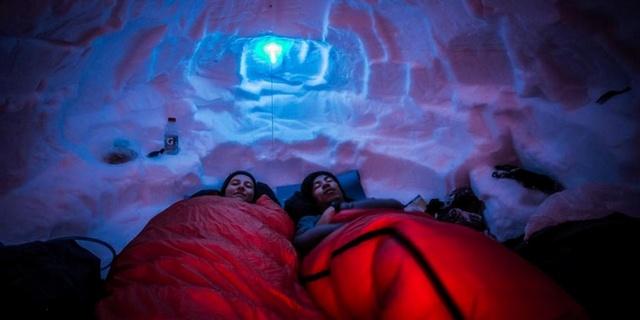 En iyi tercih kar mağarası
