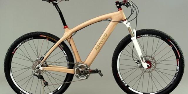 Tüm ihtişamıyla Renovo ahşap bisiklet
