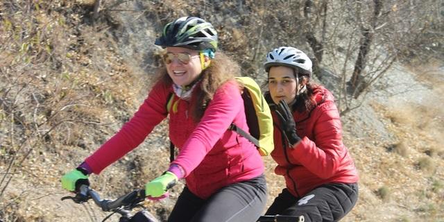 Tandem bisikletle gezi…