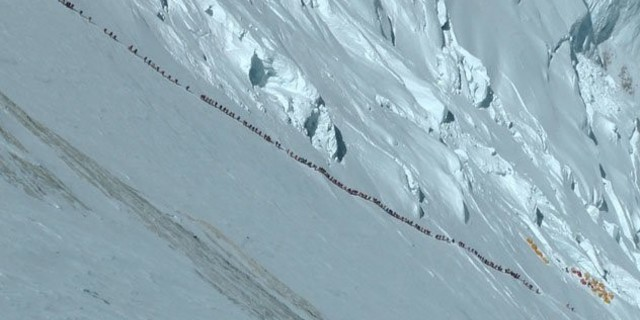 2012'den Everest manzarası