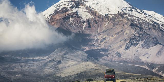 Chimborazo Dağı yeryüzü merkezine en uzak zirveye sahip