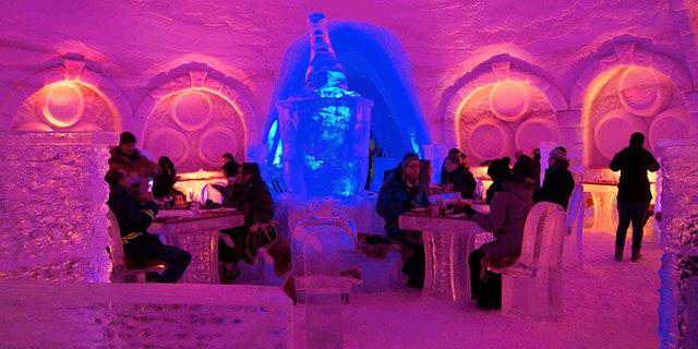 Ice Bar'da herkes buz mu kesmiş?