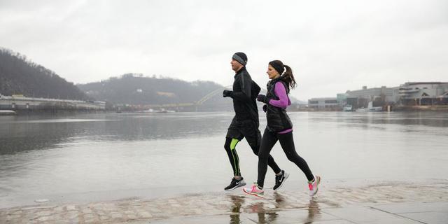 Yağmurda koşmak romantik olabilir