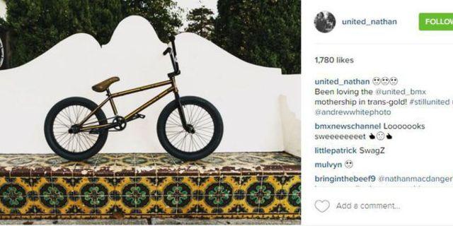 Instagram'da bisiklet