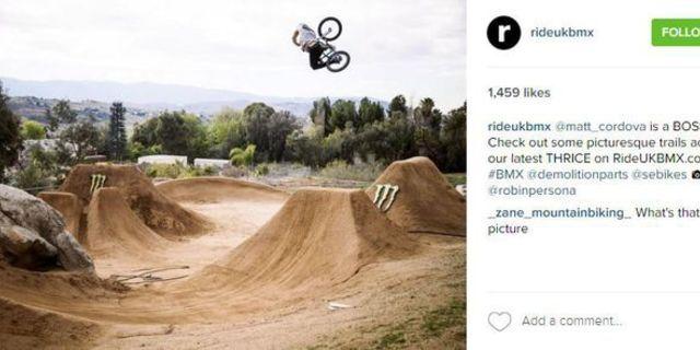 Instagram'dan bir Dirt Riding fotoğrafı