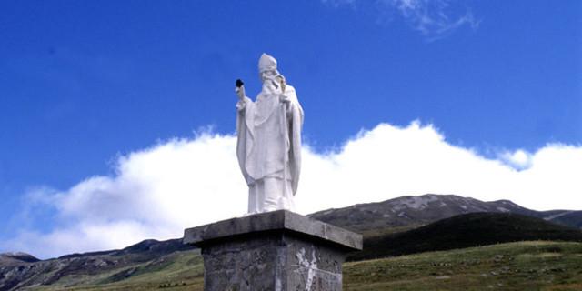 Yolculuğun sonunda sizi bekleyen heykel