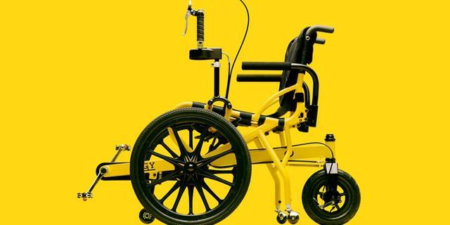 Bu bisikletle felçliler bile pedal çevirebiliyor