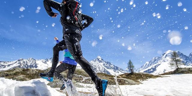 Ayakkabınız sağlamsa kar kış demeden koşabilirsiniz