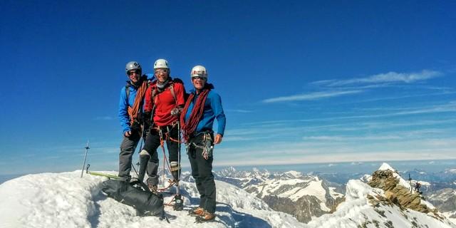 Matterhorn zirvesinde