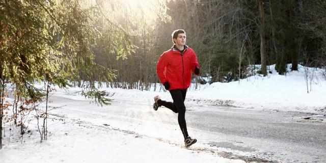Aslında kışın koşmak sıklıkla yapılan bir  aktivite