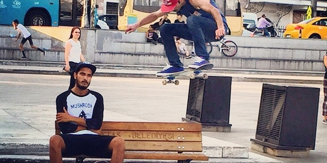 İstanbul'da kaykayın en önemli adreslerinden: