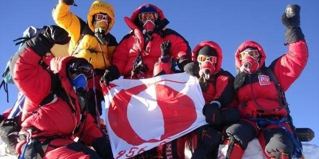 24 Mayıs 2006 Türkiye Takımı Everest zirvesinde