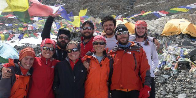 Everest ekibi…