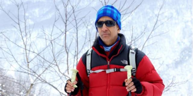 Görme engelli dağcımız: Necdet Turhan