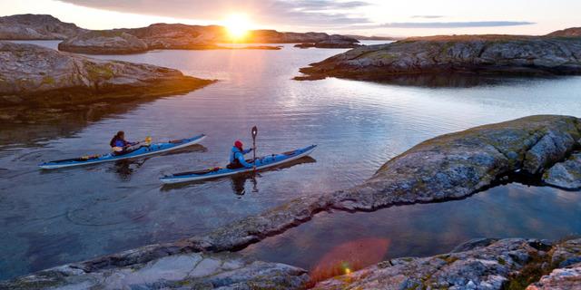İsveç'te kayaking başkadır