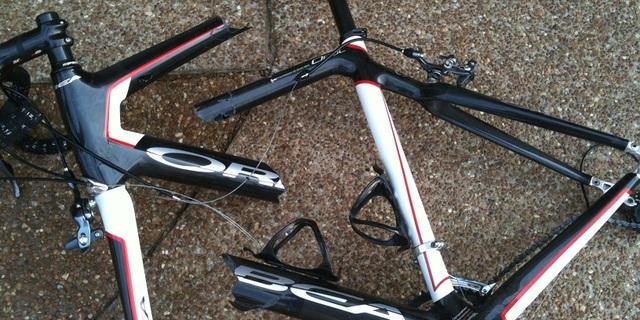 Bir bisikletçinin kabusu!