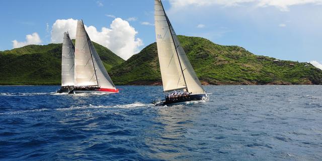 Antigua'da yelken bir başka...