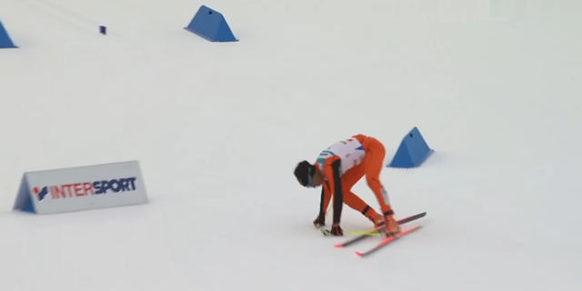 Venezuellalı kayakçı: Adrian Solano