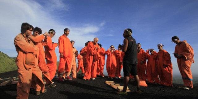 Bu grup hapishane kaçkını değil, volkan board'cuları!