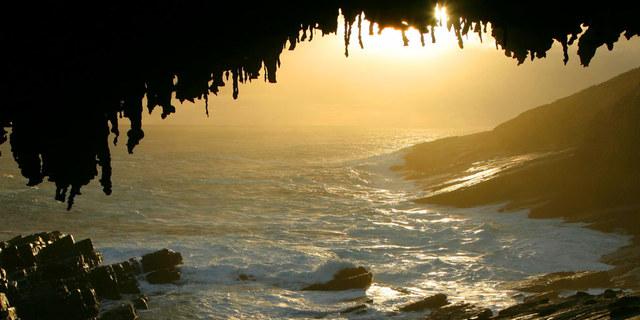 Kangroo Island'da bu manzara için gidilir