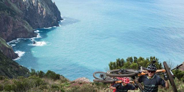 360 derece dağ bisikleti deneyimi