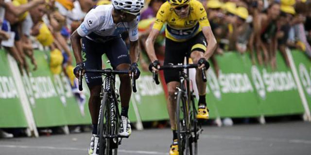 Geçen yıl Froome Fransa'da, Quintana İspanya'da kazandı