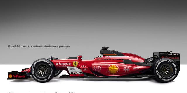 Ferrari'nin 2017 F1 aracı