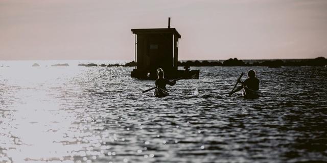 Hem askeri kalıntılar, hem doğa hayatı Estonya adaları açıklarında