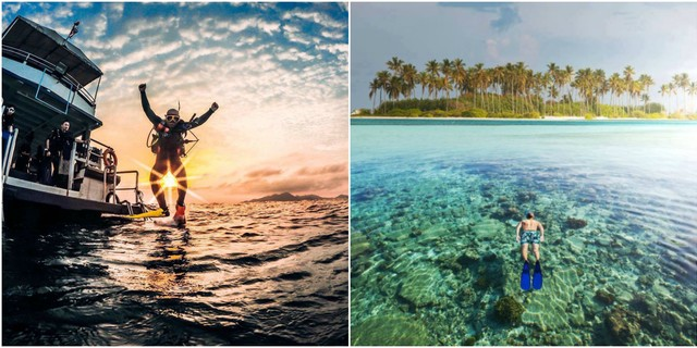 Tüplü dalış mı şnorkelle dalış mı?
