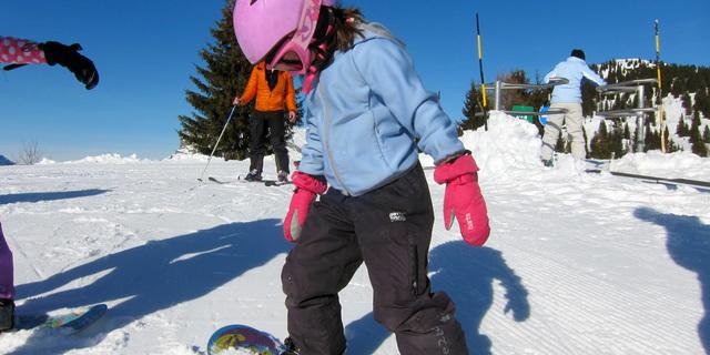 Snowboard'un yaşı yok…