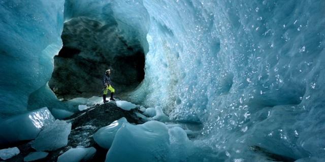 Hele buz mağaraları en soğuklarıdır