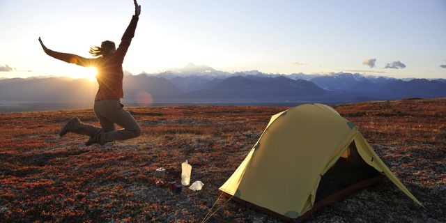 Yalnız kalmayı seviyorsanız tek başına kamp yapmak tam size göre