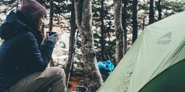 Birçokları hala bir kadının tek başına kamp yapmasını garipsiyor