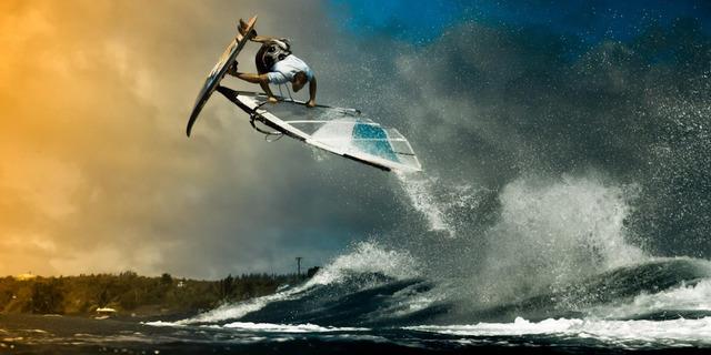 Fotoğraf sizi yanıltmasın henüz hava sörfü diye bir şey yok!